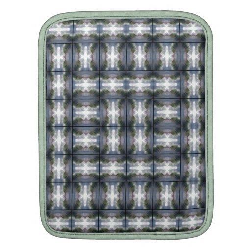 4 Waves Grid HDR iPad Sleeve