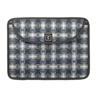 4 Waves Grid HDR Sleeve For MacBook Pro