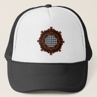 4 Waves Grid HDR Trucker Hat