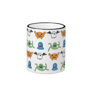 4 Weirdo Bunch Pattern Coffee Mug