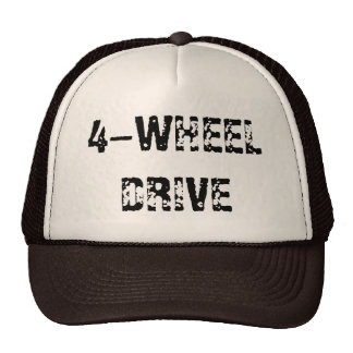 4-WHEEL DRIVE MESH HATS