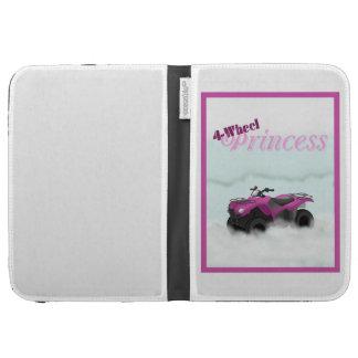 4 Wheel Princess Kindle Cover