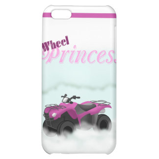 4 Wheel Princess Phone Case Cover For iPhone 5C