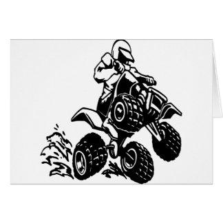 4 Wheel Quad Racing Card