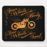 4 Wheels Move 614 Mouse Pad