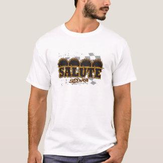 4 Wide Salute Modified T-Shirt