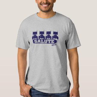4 Wide Salute Sprint Car T-Shirt