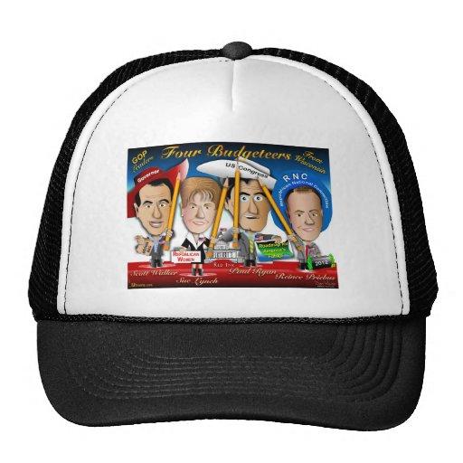 4 Wisconsin GOP Leaders Trucker Hat | Zazzle
