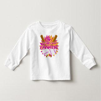 4 Year Old Baseball Fanatic Toddler T-shirt