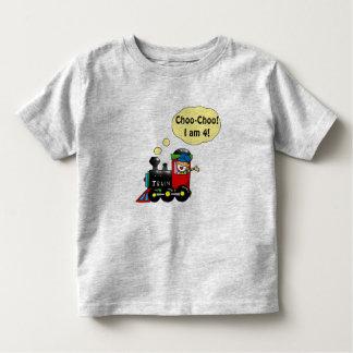 4 year old birthday boy toddler t-shirt