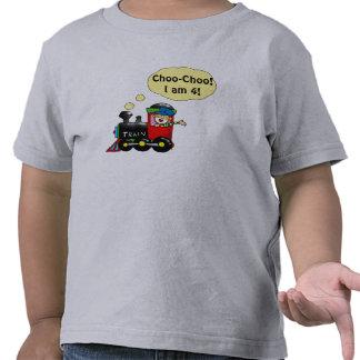 4 year old birthday boy tee shirts