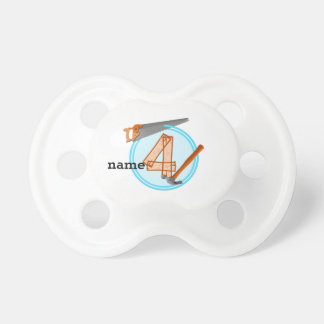 4 year old Birthday Party Builder theme Pacifier