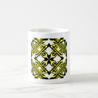 4 Yellow Alternate Transparent Coffee Mug