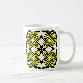 4 Yellow Alternate Transparent Mug