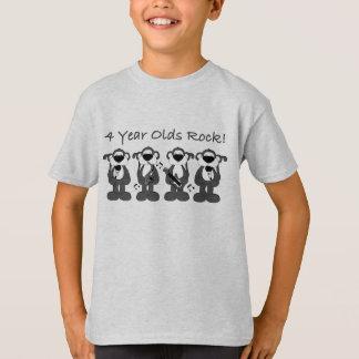 4 yr olds rock T-Shirt
