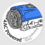 4AC Powered (The Underdog Story) Stickers