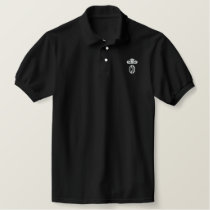 4all = CD-RECORDZ Embroidered Polo Shirt