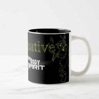4Art Two-Tone Coffee Mug