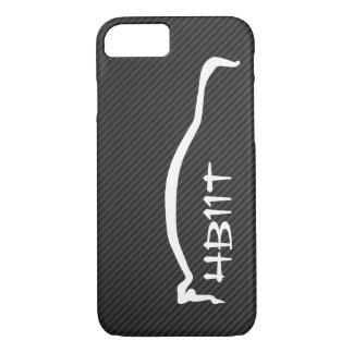 """4B11T"" Mitsubishi Evolution X White Silhouette iPhone 7 Case"