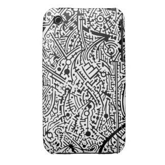 4B Psyart texture iPhone 3 Cover