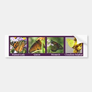 4Butterflies-PL-Q-Mon-Sul Pegatina Para Auto