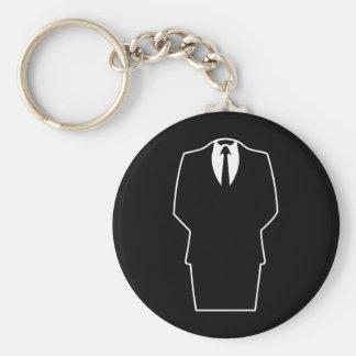 4chan anónimos SA del Internet del icono Llavero Personalizado