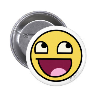 4chan Awesome Face 2 Inch Round Button