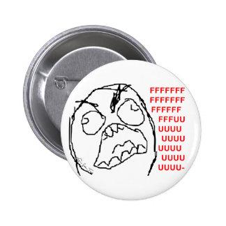 4chan Rage Guy 2 Inch Round Button