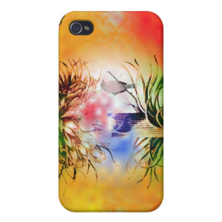 4Colors and Bird  iPhone 4 Case