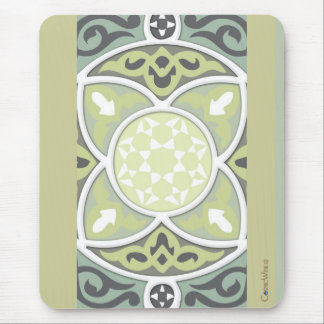 4Directions Lime&Sage Mouse Pad