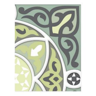 4Directions Lime&Sage Postcard
