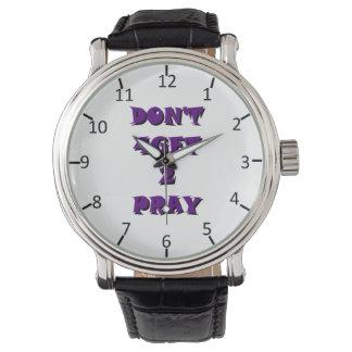 4Get 2 no ruegan Relojes De Pulsera