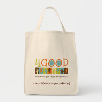 4GOOD Logo Reusable Grocery Bag