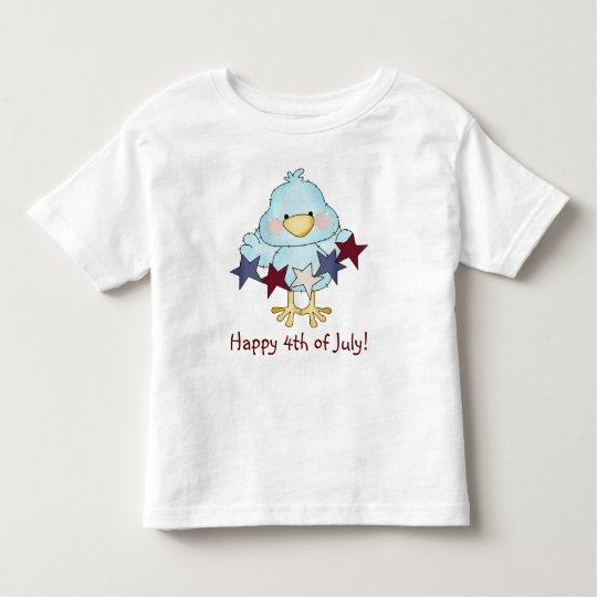 4ht of July Blue Bird Toddler T-shirt