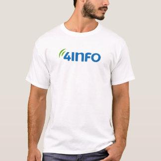 4INFO T-shirt w/ Motto