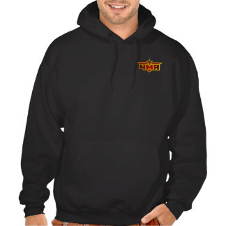 4MR - For Mother Russia Black Hoodie