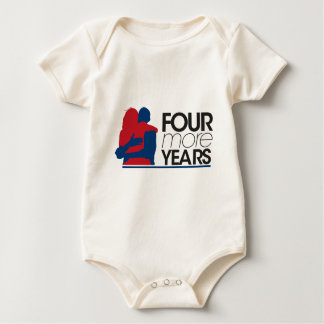 4MY Obama - Side Photo Baby Bodysuit
