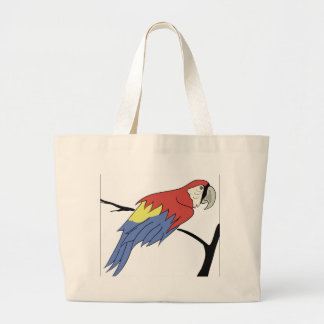 4parrot large tote bag