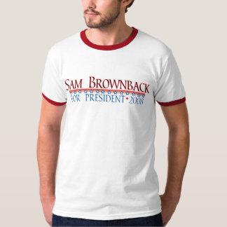 4prez-brownback t shirt