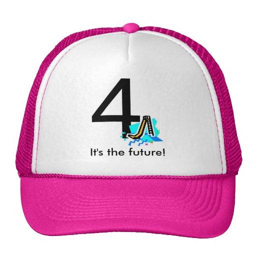 4slideslogo, It's the future! Trucker Hat
