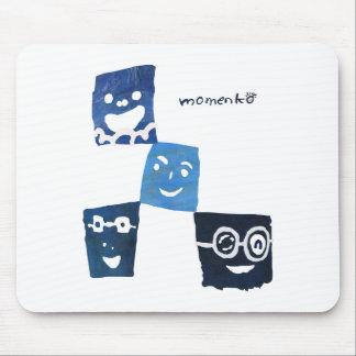 4smile - blue- mouse pad
