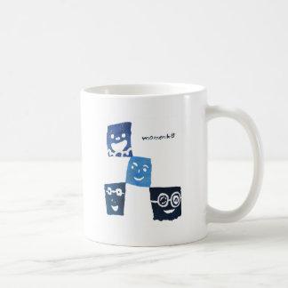 4smile - blue- coffee mugs