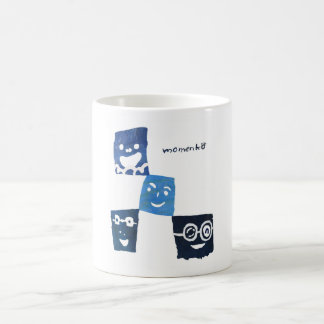 4smile - blue- coffee mug