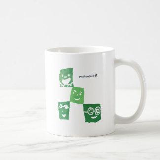 4smile - green- coffee mug