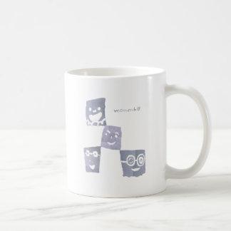 4smile - grey- coffee mug