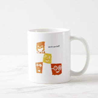 4smile - orange- coffee mug