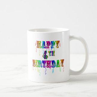4ta fuente feliz del circo del cumpleaños taza