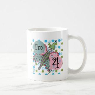4tas camisetas y regalos del cumpleaños de la mari taza de café