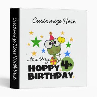 """4tas camisetas y regalos del cumpleaños de la rana carpeta 1"""""""