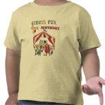 4tas camisetas y regalos del cumpleaños del circo